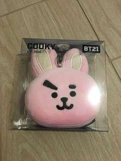 全新 BT21 防彈少年團 Cooky Key Ring 鎖匙扣 Line Friends 果果韓國購買