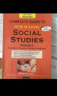 Social studies guidebook