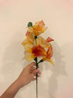 Handmade Flowers (Boat Orchids)
