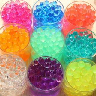 🚚 Water Beads / Crystals / Bullets for Decoration / Planting / Toy Gun and Fun Play / WBB