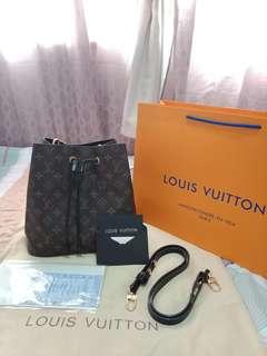 LV Neone Mono Bucket Bag FREE SF