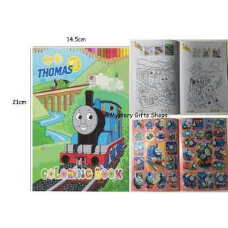 Colouring sticker booklet/Colouring book/Children party/goodie bag/birthday/children day