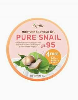 ESFOLIO Pure Snail Moisture Soothing Gel 95%