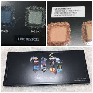 BNIB AUTHENTIC Urban Decay Born To Run Eyeshadow Palette