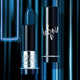 Make Up For Ever Icona Pop Blue Lipstick