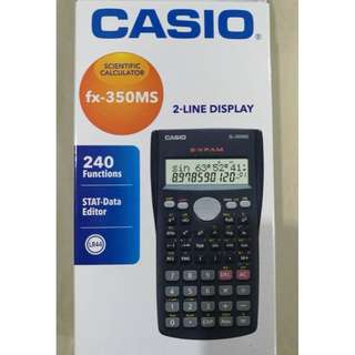 (Used) Casio fx-350MS Scientific Calculator