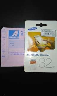 32GB SDHC MICRO SD CRAD