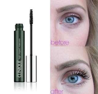 Clnique high impact mascara travel size 3.5