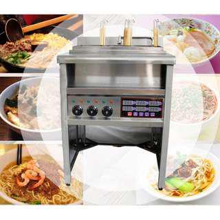 [廠商直送]定時款立式六孔電熱煮麵機 定時煮麵爐 麻辣燙 關東煮