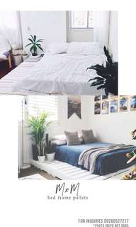COSTUMIZED BED FRAME PALLETS