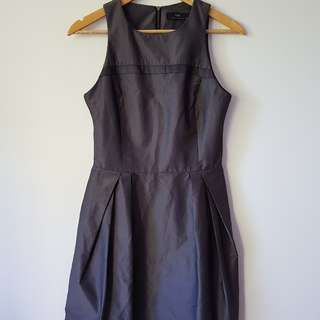 Cue ladies grey dress - size 10