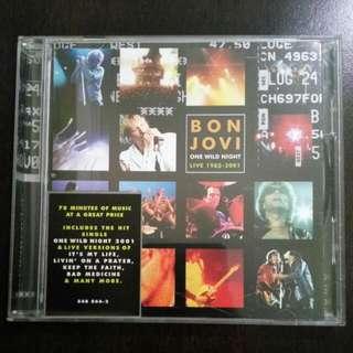 Bon Jovi : One Wild Night Live CD