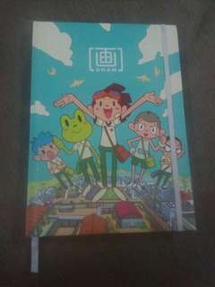 Gempak Starz A5 Notebook Lawak Kampus edition