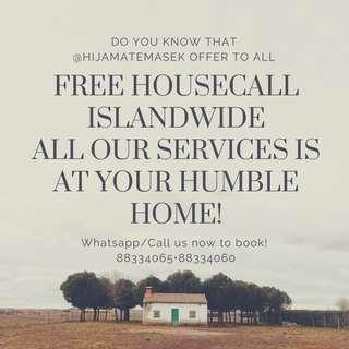 FREE HOUSECALL