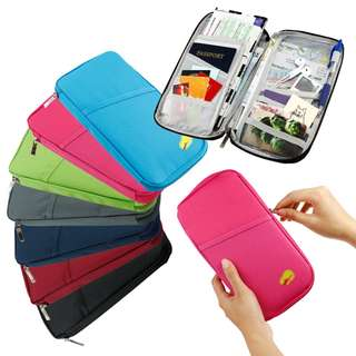 TRAVEL ORGANIZER PASSPORT POUCH