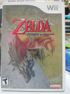 Nintendo Wii games , Zelda twilight princess