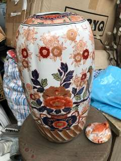 Ginger jar porcelain