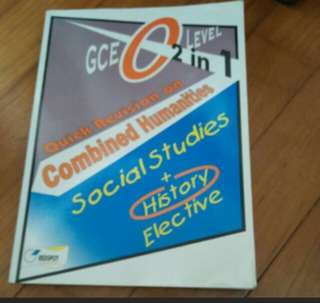 O level Social Studies & Elective History Guide