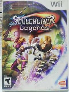 Wii Excalibur legends games