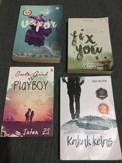 Paket Buku novel remaja