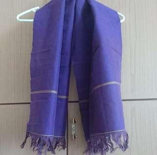 Purple Scarf 紫色圍巾