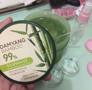 soothing bamboo the face shop