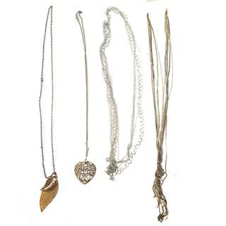 H&M and Forever 21 assorted necklace set