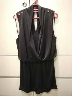 Dark brown Jumpsuit short