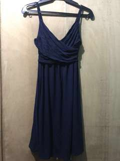 THEORY Blue Dress