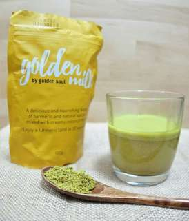 """女士恩物,外國瘋傳既""""薑黃奶""""!Golden Soul—Golden Milk薑黃奶"""