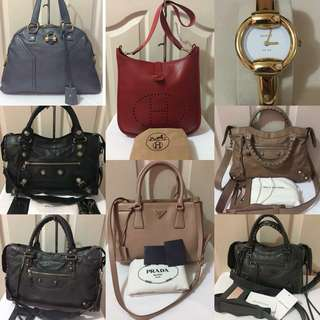 Luxury Authentic bags