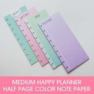 Colored Paper - Half Sheet - Classic