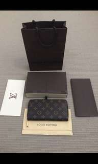 Louis Vuitton Authentic Zippy Wallet GI4154