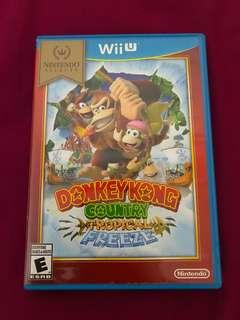 WiiU Donkey Kong Country Tropical Freeze 美版