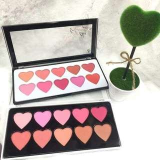 Zd blush pallete