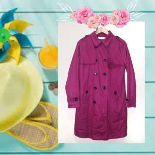S/M Korean Style Trench Coat Jacket for Autum.