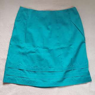 A Line Cotton Skirt