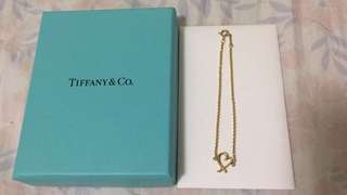 Tiffany & Co. 18k gold, Paloma Picasso loving heart bracelet