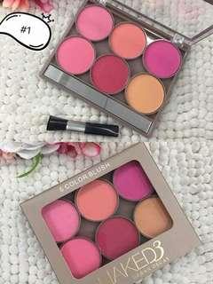Naked 3 blush pallete