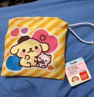 日本直送布甸狗環保袋