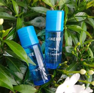 Laneige water bank double layering oil 5ml