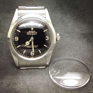 High Dome Crystal 高清膠面  for Rolex Explorer Gilt Dial
