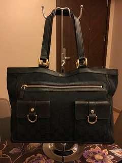 Gucci abbey GG canvas Tote Bag