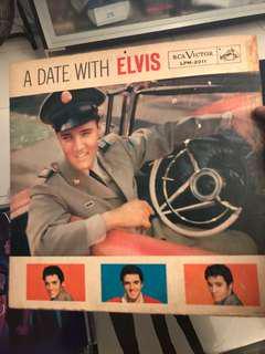 Vintage Elvis Presley records