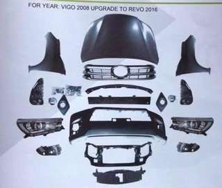 toyota vigo 2013 version chg to toyota revo 2015