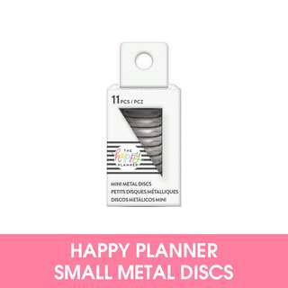 🚚 Happy Planner Mini Metal RIng - Silver