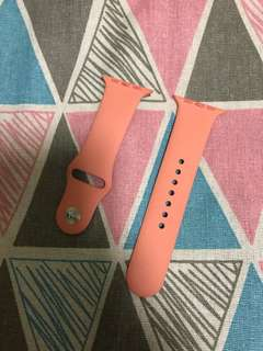 100% Apple Orignial 42mm Flamingo Watch band - 天堂鳥色錶帶(已絕版)