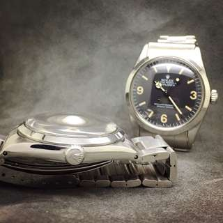 High Dome Crystal 高清膠面 for Rolex 1016 Explorer Matte Dial