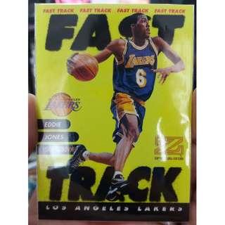 1997 Rare Skybox NBA Cards Fast Track #5of12/FT Eddie Jones