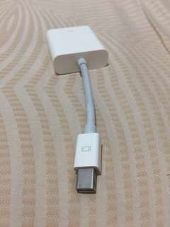Original Apple Mini Display to VGA Adapter